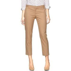 NWT Gap Slim Cropped Khaki Pants